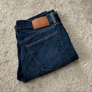J.crew men's 770 straight dark wash jeans
